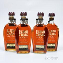 Elijah Craig Barrel Proof 12 Years Old, 4 750ml bottles