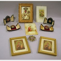 Group of Christian Items