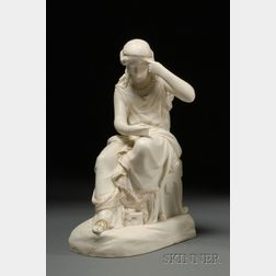 Copeland Parian Figure of a Classical Woman