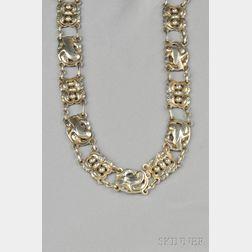 Sterling Silver Necklace, Georg Jensen & Wendel