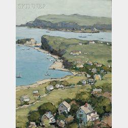 Walter Farndon (American, 1876-1964)      On the Bluffs