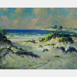 Frederick Mortimer Lamb (American, 1861-1936)    Sand Dunes
