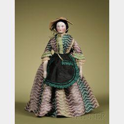 China Lady with Braided Bun