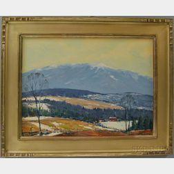 John F. Enser (American, 1898-1968)      Winter in the Valley