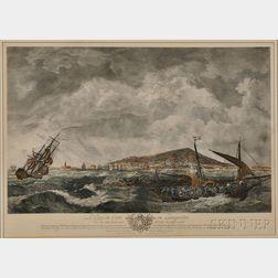 After Claude Joseph Vernet (French, 1714-1789)      Le port de Cette en Languedoc