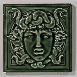 Villeroy & Boch Mythological Art Pottery Tile