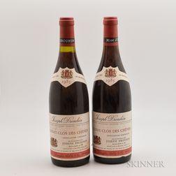Joseph Drouhin Volnay Clos de Chenes 1985, 2 bottles