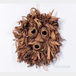 Iroquois Corn Husk Face Mask