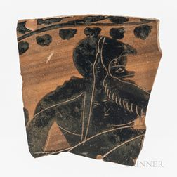 Ancient Etruscan Pottery Fragment
