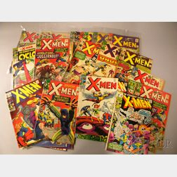 Thirty-eight Silver Age The X-Men,