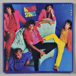 Rolling Stones, Signed Album Cover.