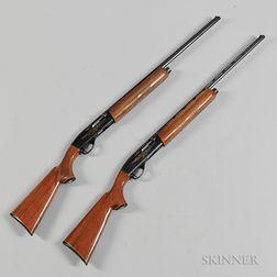 Matched Pair of Remington Model 1100 Shotguns