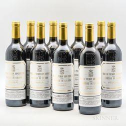 Chateau Pichon Lalande 2000, 9 bottles