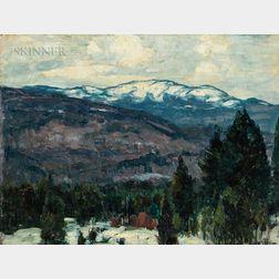 John Fabian Carlson (American, 1875-1947)      Mountain Peace