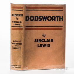 Lewis, Sinclair (1885-1951), Dodsworth.