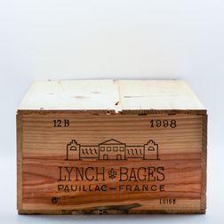 Chateau Lynch Bages 1998, 12 bottles (owc)