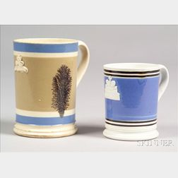 Two Mochaware Mugs