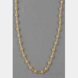 "18kt Gold ""Gitan"" Necklace, Cynthia Bach"