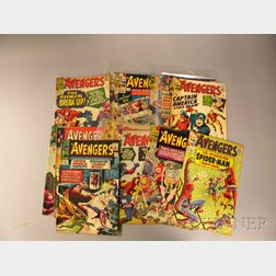 Sixteen Silver Age The Avengers