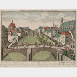Nuremberg, View, Georg Balthasar Probst (1673-1748)