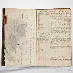 Trotter, William (1769-1822) Seven Manuscript Ship's Logs, 1787-1800
