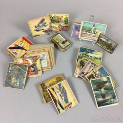 Group of Gum and Cigarette Cards