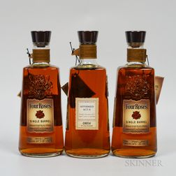 Four Roses Single Barrel, 3 750ml bottles