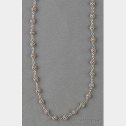 "18kt White Gold ""Gitan"" Necklace, Cynthia Bach"
