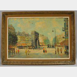 French School, 20th Century      Rue St. Denis, Paris