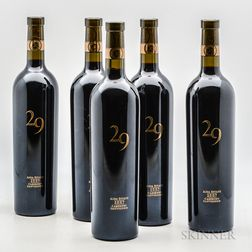 Vineyard 29 Aida Estate Cabernet Sauvignon 2007, 5 bottles