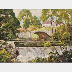 Robert Shaw Wesson (American, 1902-1967)      Summer Falls