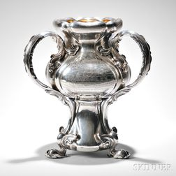 Gorham Sterling Silver Presentation Loving Cup