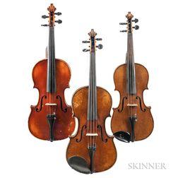 Three Violins.     Estimate $300-500