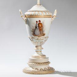 Continental Porcelain Lamp Base