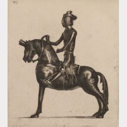 Sir David Young A. Cameron (British, 1865-1945)    Lot of Three Decorative Arts Images:  Rameses II