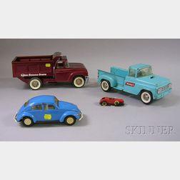 Four Metal Mid-20th Century Toys