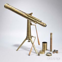 Ross 3-inch Refractor Brass Telescope