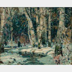 John Fabian Carlson (American, 1875-1947)      Shadowy Pool