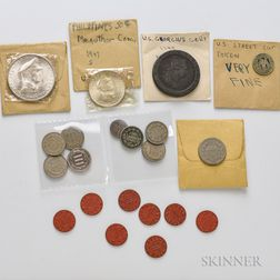 Eight Three Cent Coins