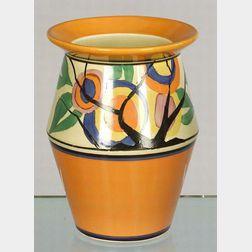 Clarice Cliff Fantasque Pattern Vase