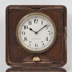 Swiss Quarter-repeating Travel Clock