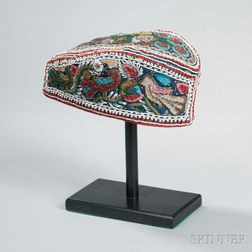 Beaded Glengarry Hat