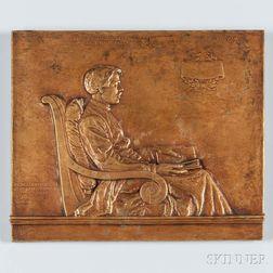 Mears, Helen Farnsworth (1872-1916) Bronze Medal of Edward Alexander MacDowell (1860-1908), 1925.