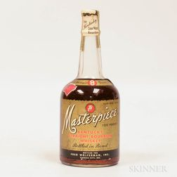 Masterpiece 8 Years Old 1947, 1 4/5 quart bottle