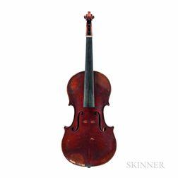 German Violin, Ernst Heinrich Roth, Markneukirchen, 1924