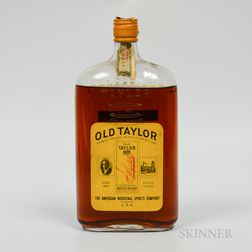 Old Taylor 16 Years Old 1917, 1 quart bottle (oc)