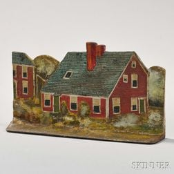 Cast Iron John Quincy Adams House Doorstop