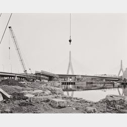 Neal Rantoul (American, b. 1946)      Opening Day, Zakim Bridge