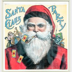 Framed Daddy and Jacks Santa Claus Party Game