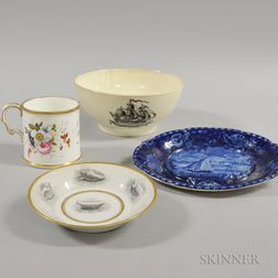Four English Ceramic Items